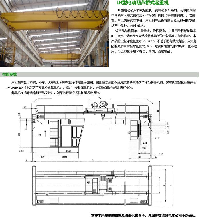 LH型电动葫芦桥式凯发k8手机版下载