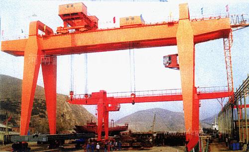 A型5-50/10吨双梁吊钩门式亚博电竞下载